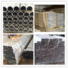 Building Material 6063 Extruded Aluminum Round Tube